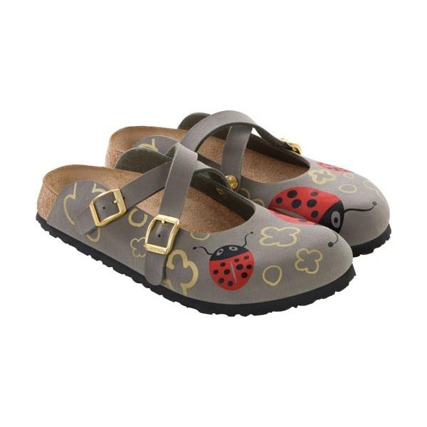 I would like a pair of these - Birkis Dorian Birko-flor Ladybug Stone