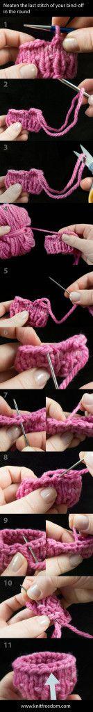 Knitting Last Stitch Bind Off : 1000+ ideas about Bind Off Knitting on Pinterest Bind Off, Casting On and K...