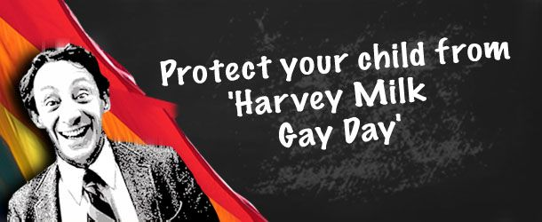 "#p2 #unitebleu #ncpol #teaparty #icot #lnyhbt Protect your children from 'Harvey Milk Gay Day' Why is a predator of teens being honored in schools? Every year, Harvey Milk ""celebrations""..."