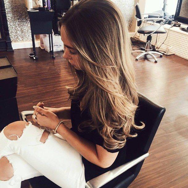 красота, девушка, волосы, длинные волосы