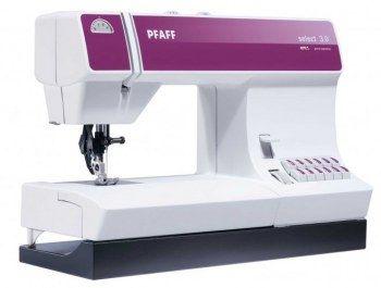 Macchina da cucire Pfaff Select 3.0 - Trasporto perfetto del tessuto da sopra e da sotto.