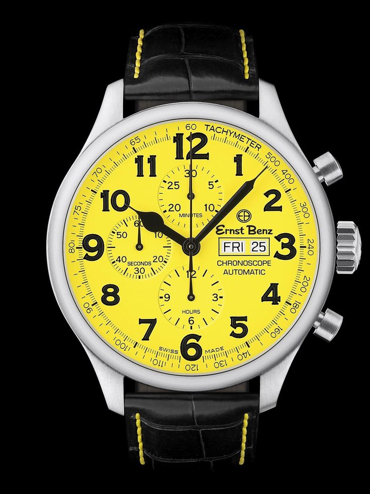 Yellow Face Watches