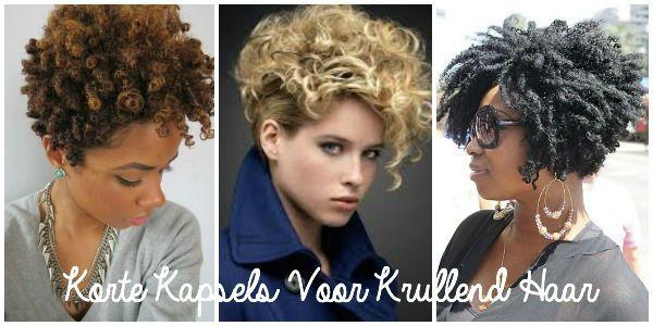 Korte Kapsels Voor Krullend Haar