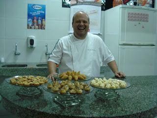 Delicias do Chefe Jurandyr Affonso: UMA DELICIA DE EMPADA FOLHADA DE BACALHAU!!!