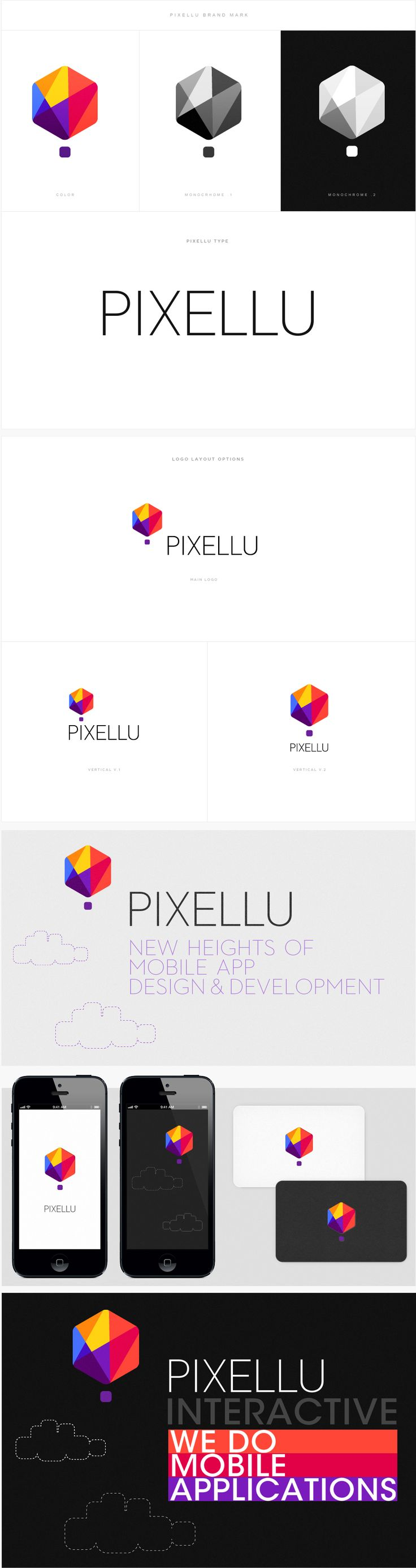 Pixellu | #corporate #branding #creative #logo #personalized #identity #design #corporatedesign < repinned by www.BlickeDeeler.de | Have a look on www.LogoGestaltung-Hamburg.de