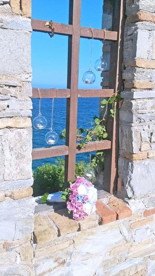 Διακόσμηση γάμου σε νησί