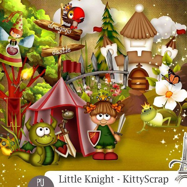 Le Blog de kittyscrap: ESSENTIEL : Little Knight