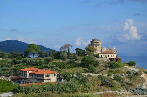 Holy nature, Mylopotamos Monastery, Mount Athos