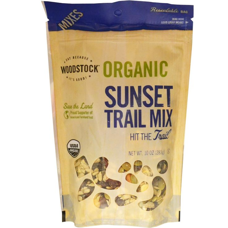 Trail mix packaging