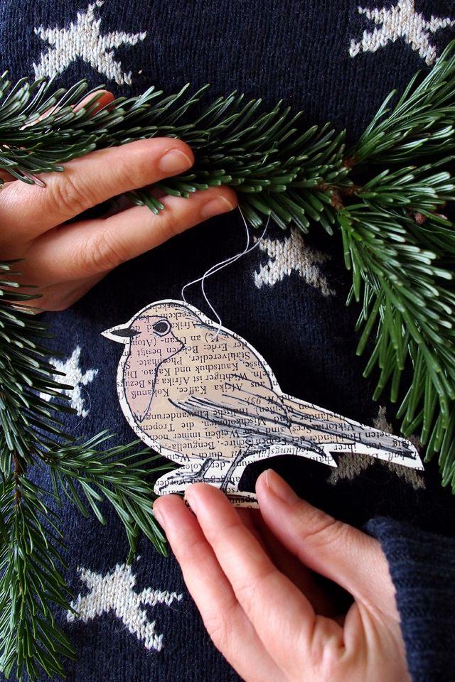 """Die Rotkehlchen-Offensive - Weihnachtskarten, Geschenkanhänger und Christbaumanhänger Freebies - """"Fee ist mein Name"""""""