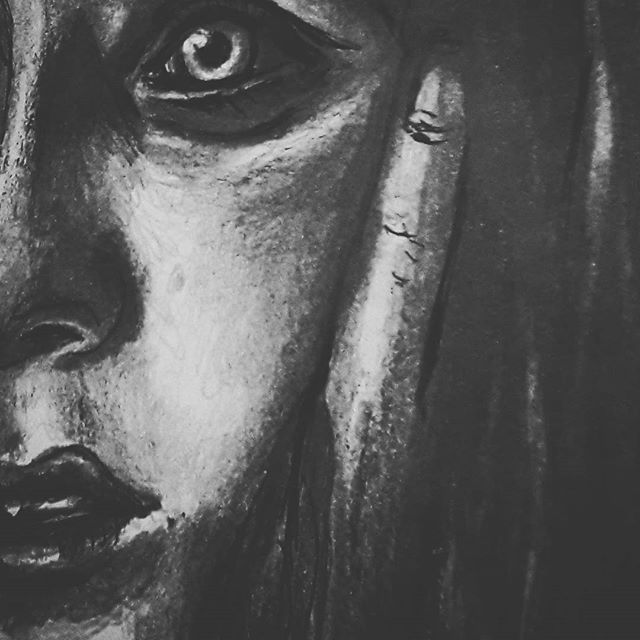 These things don't always go as planned, and sometimes we make do and learn from our mistakes  What is not, and what will be    #draw #drawings #sketch #pencil #graphite #wip #mistakes #face #portrait #eye #art #artsy #blackandwhite #pale #salvage #words #trying #tryingtimes #pennydreadful #pale #moon #hand