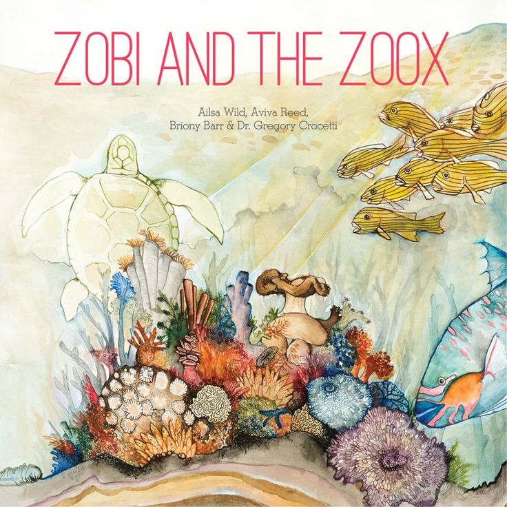 Zobi and the Zoox is a new science-adventure storybook - about microscopic  friends inside a coral polyp on the Great Barrier Reef.  A Short Synopsis:   When their coral polyp home is under threat Zobi (a brave rhizobia  bacterium), teams up with a family of slow but steady Zoox (zooxanthellae).  The ocean gets too hot, the coral is gravely ill and the other bacteria go  crazy...so Zobi and the Zoox have to work together to try and save the day. Written by Ailsa Wild and illustrated by…