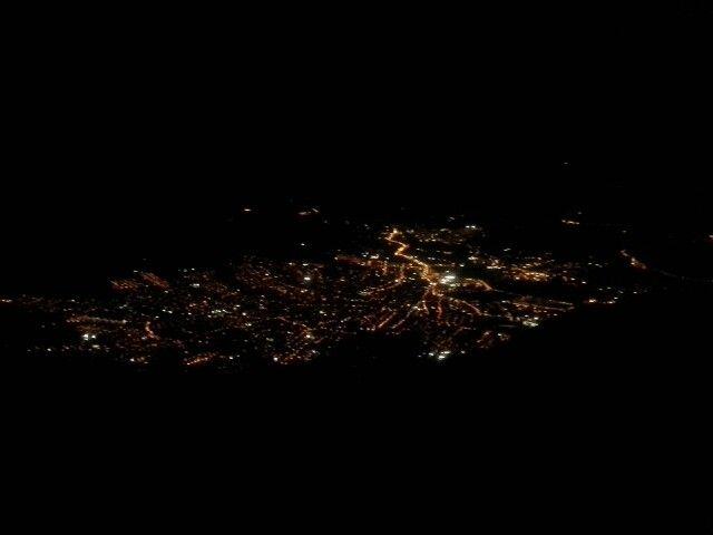 Medellin at night