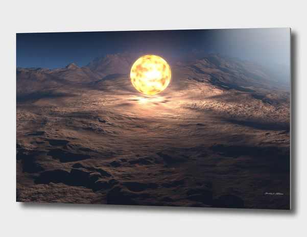 Discover «Fire ball», Limited Edition Aluminum Print by Mikhail Prokhorov - From $99 - Curioos