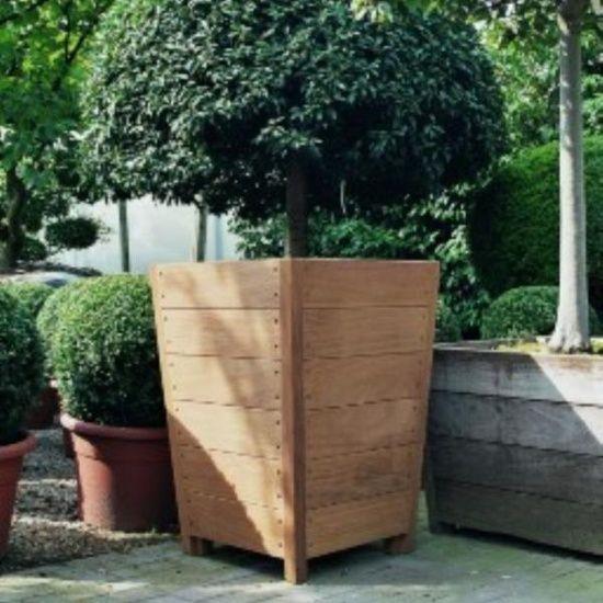 Hardwood Garden Planters Adezz Wooden
