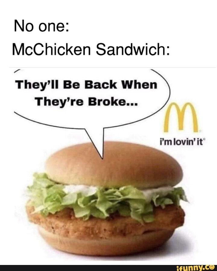 Mcchicken Meme