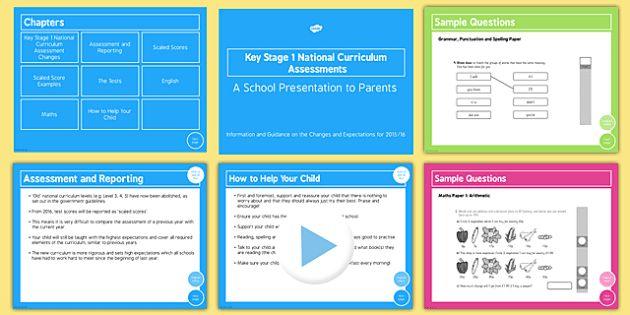 KS1 National Curriculum Assessments 2016 Information for Parents - ks1, sats, 2016, information, parents, info