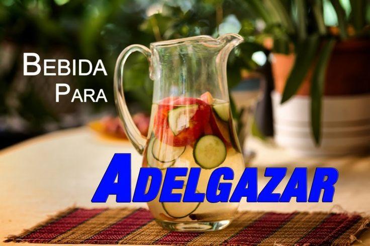 Agua que debes preparar por las mañanas si quieres adelgazar rápidamente ¡Anímate! #Dieta #Detox #Recetas #Adelgazar