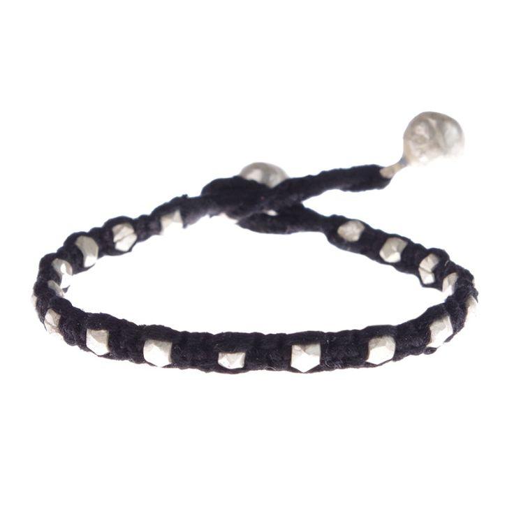A Beautiful Story sieraden | Studio Art Styles  | Armband |  Aruna Silver bracelet | handcut beads in a beautiful setting