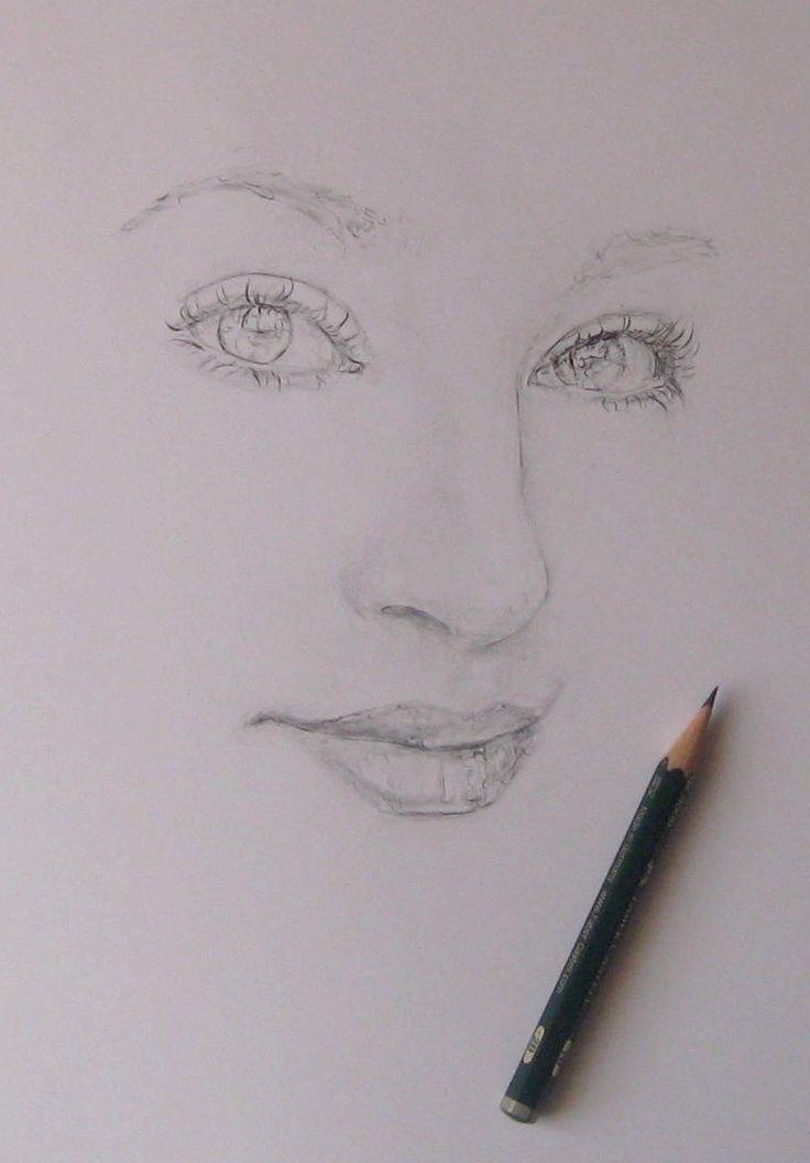 Sketch Ieva face part 1 (Pencil 2B)