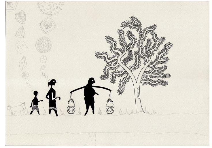 Satyajit Ray illustration