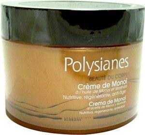 La crème de Monoï des POLYSIANES, le soin de beauté au monoï pour apaiser, nourrir et réparer la peau après les expositions au soleil.