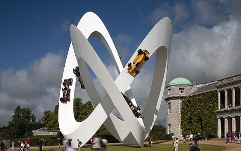 Gerry Judah – Lotus installation @ Goodwood Festival of Speed 2012