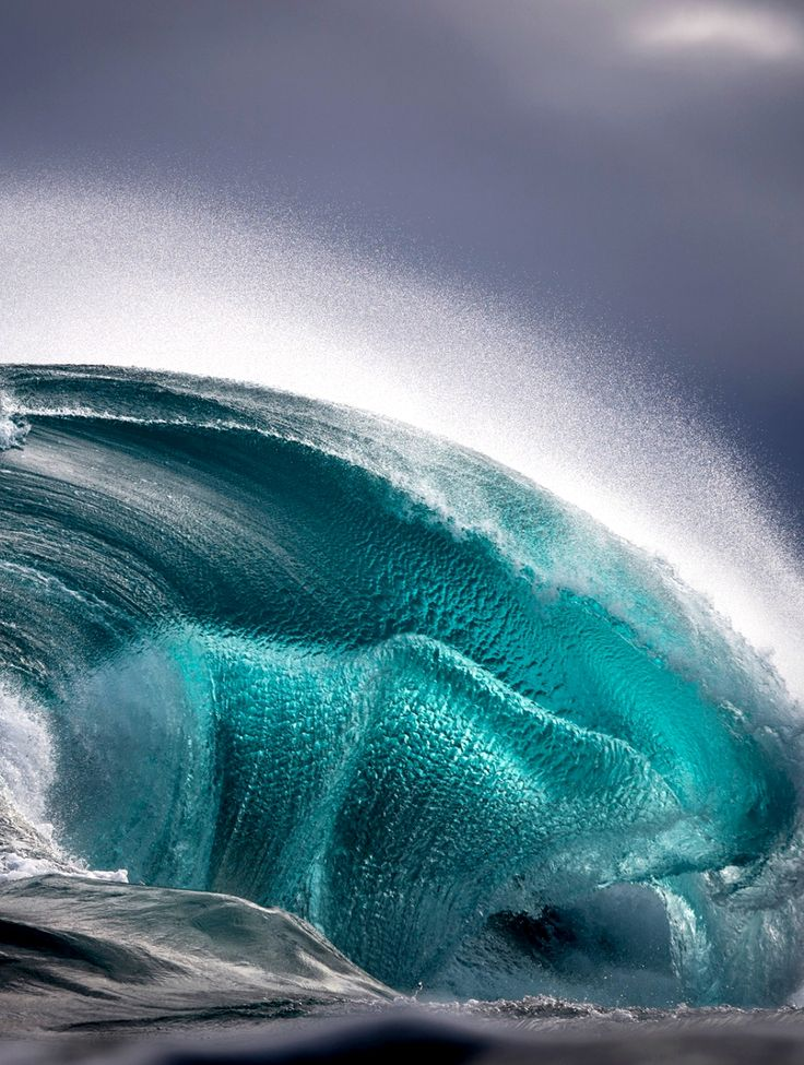 ~~Ever changing seascapes | Beautiful seascapes capture the power and perpetual motion of ocean waves, rising up and crashing down as they near the Australian coast. Ray Collins, a coal miner until he turned to surf photography after an industrial injury, also focuses on the calmer and more serene moments he experiences in the sea | The Guardian~~