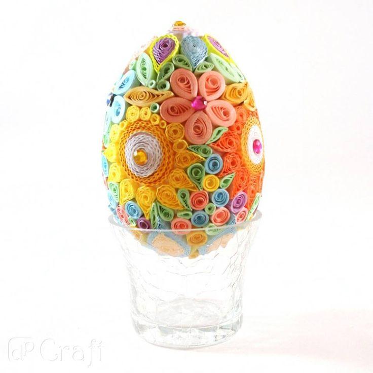 quillingowe jajo - dpCraft - Agnieszka C