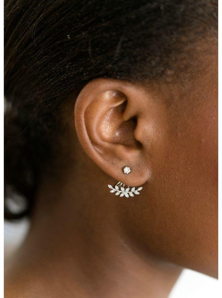 Les 25 meilleures id es de la cat gorie piercings d 39 oreilles sur pinterest piercings - Poussette de boucle d oreille ...
