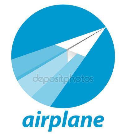 Paper Airplane vector — Stock Vector © msjeje #133301528