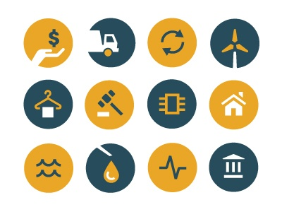 Flat Icons / Flat Design / Icons Design / Icons / Pictograms / Signs / Insurance #flat #design #icon