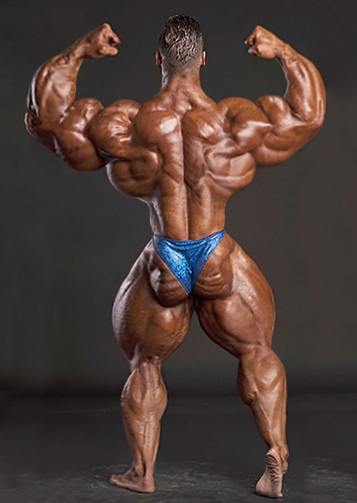 Male bodybuilders transformed into massive, bulging ...