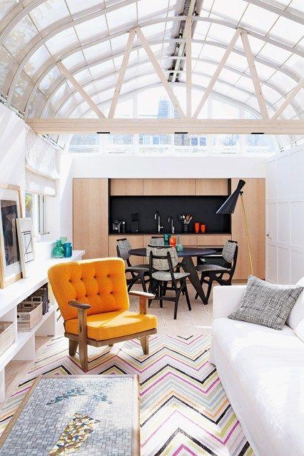 Modern Bright Eclectic Living Room - Living Room Design Ideas (houseandgarden.co.uk)