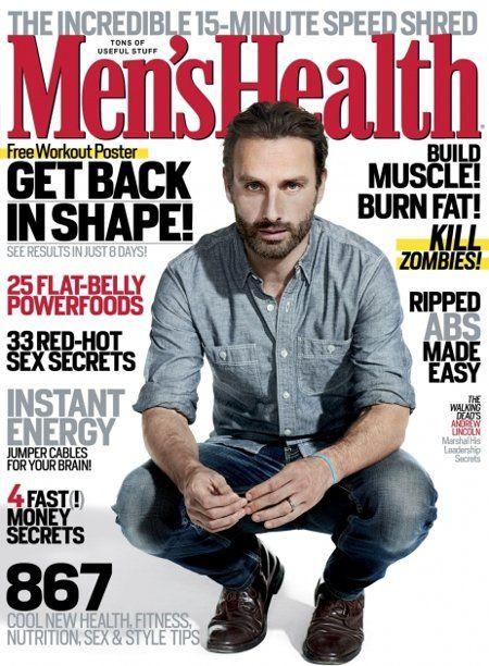 TWD Men's Health Magazine
