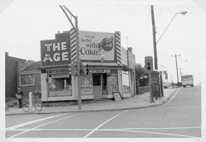 Milkbar corner Huntingdale & Waverley Rds Mount Waverley. This one had the really good lollies. Courtesy Waverley Historical Society
