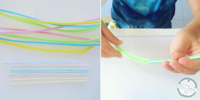 Attività dei colori con gli scovolini | MiniFactory