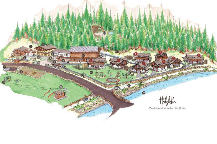 Das Feriendorf Holzleb'n auf einen Blick - Urlaub am Bauernhof mit Hotelkomfort in den gemütlich eingerichteten Ferienwohnungen und Luxus-Chalets