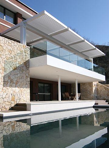 17 besten Modern pergolas Bilder auf Pinterest Gärten, moderne - 28 ideen fur terrassengestaltung dach