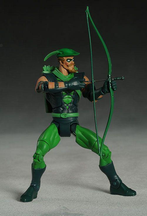 DCUC Green Arrow action figure by Mattel