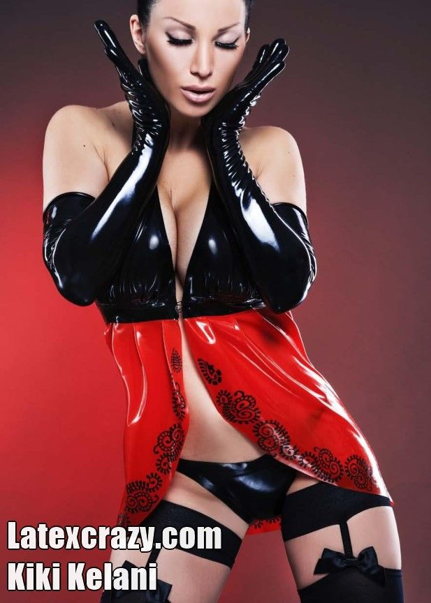 Latexcrazy.com with Miss Kiki Kelani and latex fashion ...