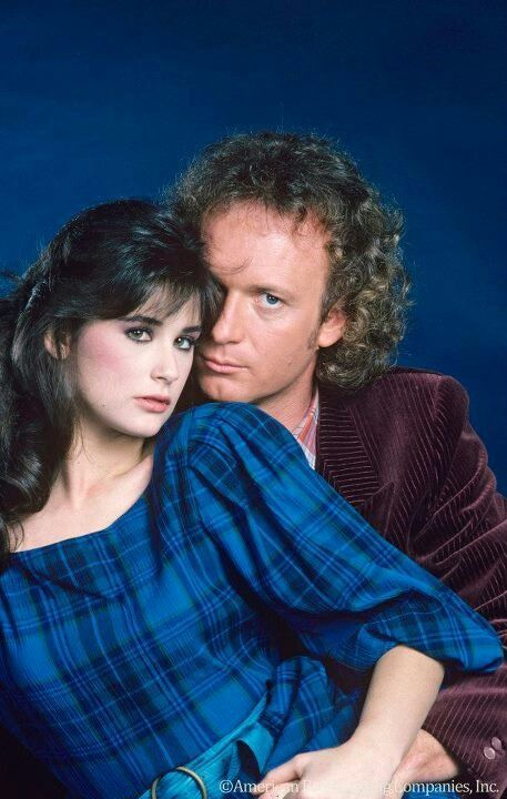 Demi Moore and Anthony Geary as Jackie and Luke  (General Hospital)