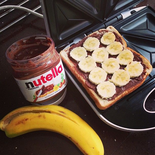 Banana Nutella Jaffle