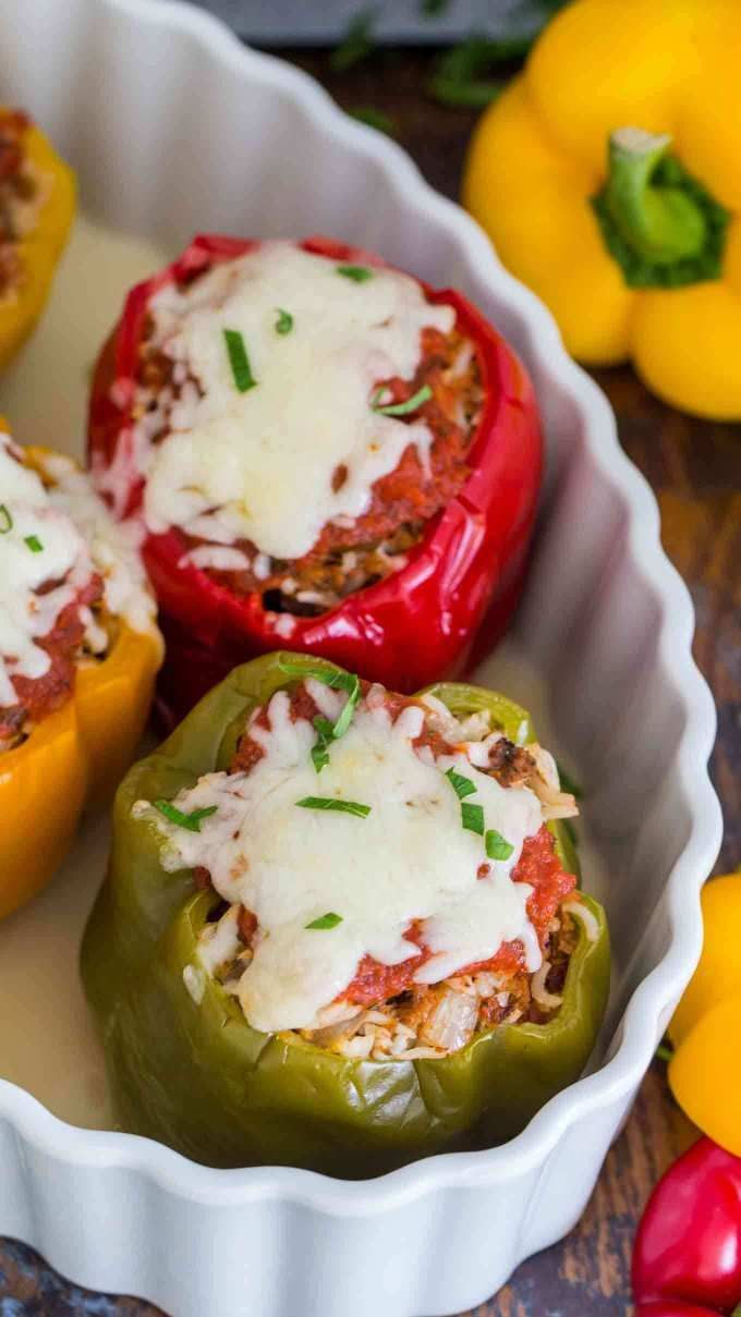 Best Instant Pot Stuffed Peppers Video Sweet And Savory Meals Recipe Stuffed Peppers Recipes Best Stuffed Pepper Recipe