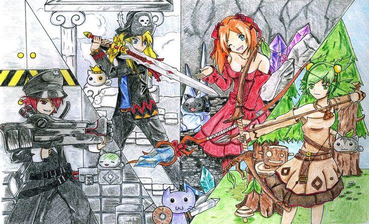 Epic Battle Fantasy 4 by sakura-kid