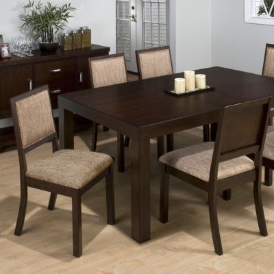 Cappuccino Dining Table with Leaf | Kirkland's - $400, seats up to 8