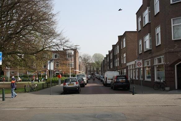 Cypresstraat vanuit de Fahrenheitstraat
