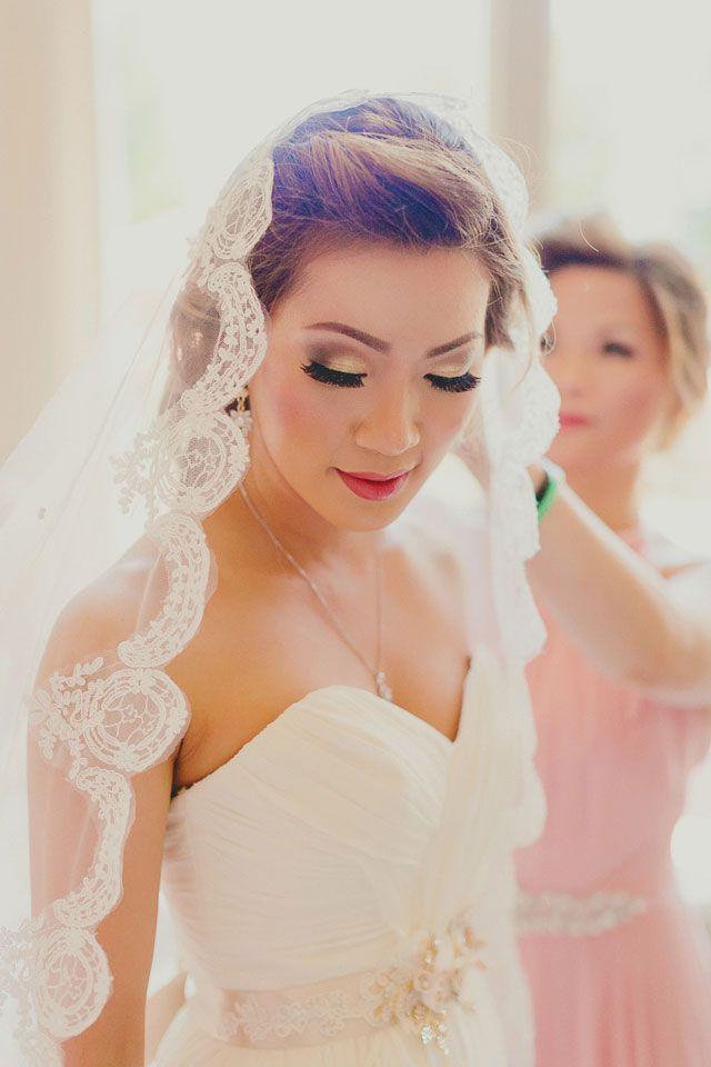 A Sparkly Blush And Metallic Wedding In San Ramon