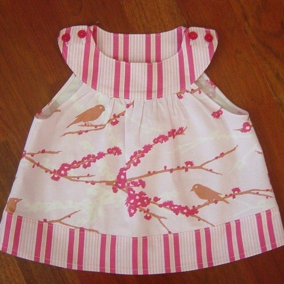 221 best Costura images on Pinterest | Baby dresses, Baby sewing and ...