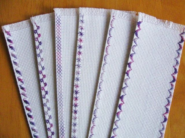 Excited to share the latest addition to my #etsy shop: 6 Blank White Fabric Various Edges Bookmarks 14 Count 26 x 114 http://etsy.me/2DL2ryL #supplies #crossstitch #bookmarks #handmade #handcrafted #new #bookmarkfabric #charlescraftfabric #deal